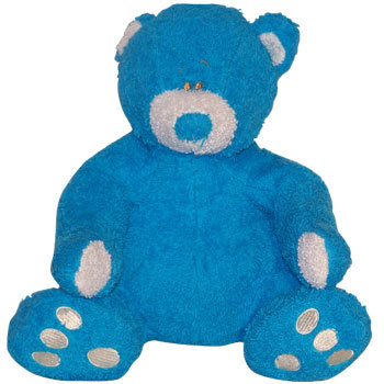 Peluche Anna Club Plush Terry Ours Bleu 22cm
