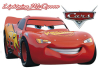 Sticker mural Cars Disney 90 cm