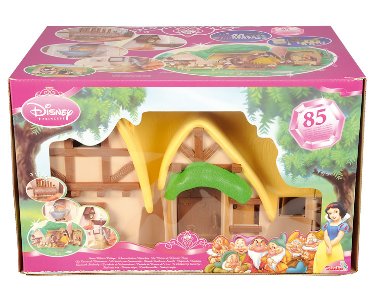 Disney maison cottage chaumi re blanche neige de 1 for Maison des sept nains