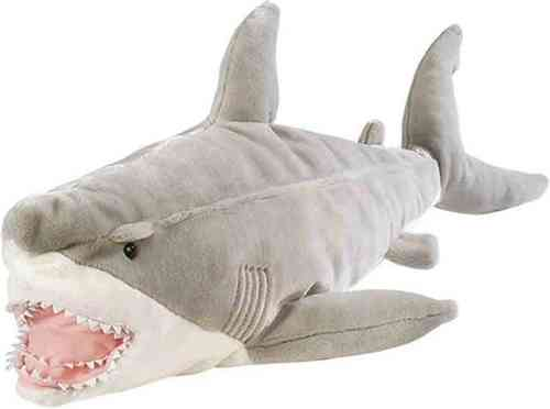 Peluche Wild Republic Requin Grand Blanc 76 cm ( Peluche Requin )