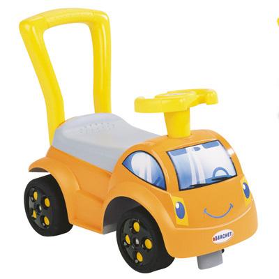trotteur porteur voiture smoby initio ii orange. Black Bedroom Furniture Sets. Home Design Ideas