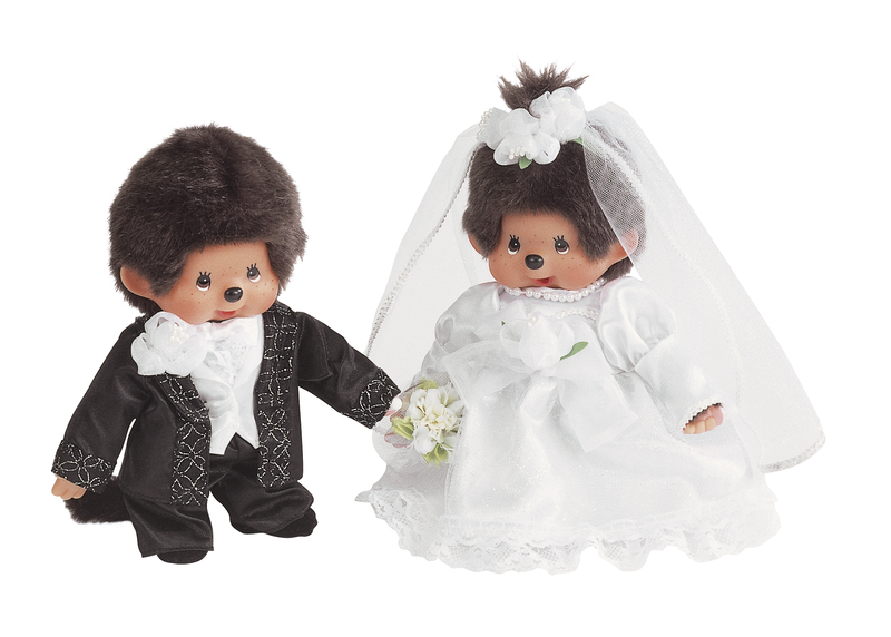 peluche kiki mariage coffret 20 cm plushtoy. Black Bedroom Furniture Sets. Home Design Ideas
