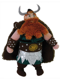 Peluche Viking Dragons Dreamworks 14 cm