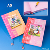Carnet Diddl A5 avec marque page Rose