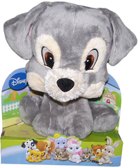Peluche Belle et le Clochard Clochard Disney Big Head 25 cm