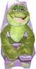 Peluche Disney Prince Naveen Grenouille 25 cm assise