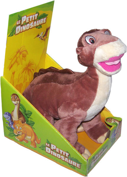 Peluche le petit dinosaure petit pied 30 cm de haut - Petit pieds le dinosaure ...
