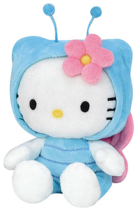 Peluche Hello Kitty 15 cm Papillon