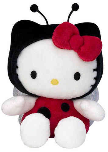 Peluche Hello kitty Coccinelle 27 cm