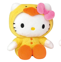 Peluche Hello Kitty Canard 15 cm
