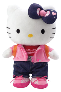 Peluche Hello Kitty Learn to dress 38 cm