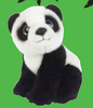 Peluche Wild Republic Wild Watchers Panda 20 cm
