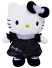 Peluche Hello kitty Gothic  bleu 27 cm