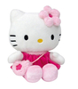Peluche Hello Kitty 27 cm Robe Rose
