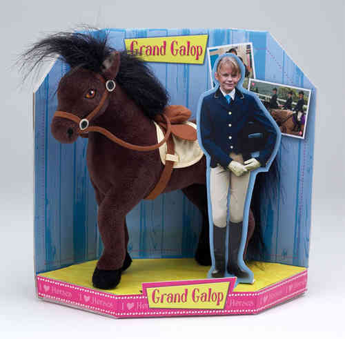 Peluche Grand Galop Belle / Steph 27 cm