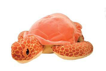 Peluche Tortue de mer Orange 76 cm Wild Republic