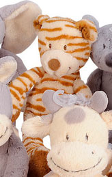 Peluche Nicotoy Funky Long Legs 30 cm Tigre