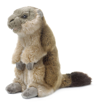 Peluche WWF Marmotte Assise 18 cm