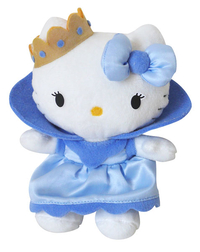 Peluche Hello Kitty Bleu Princesse 15 cm