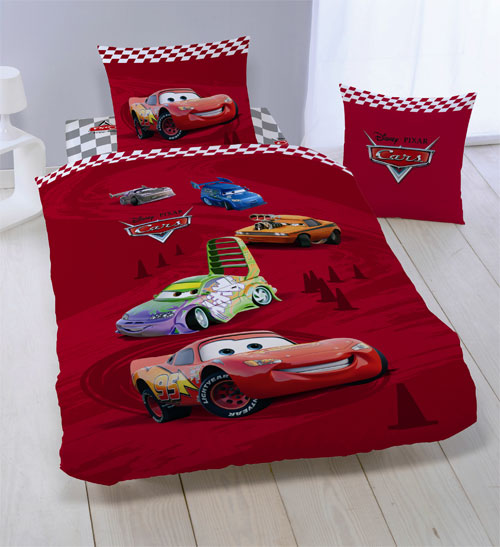 drap housse disney cars curves 90 x 190 cm. Black Bedroom Furniture Sets. Home Design Ideas