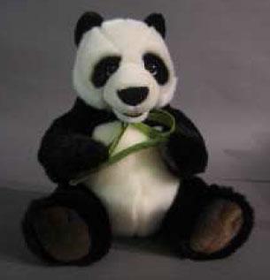 peluche panda avec bambou assis 30 cm plushtoy. Black Bedroom Furniture Sets. Home Design Ideas