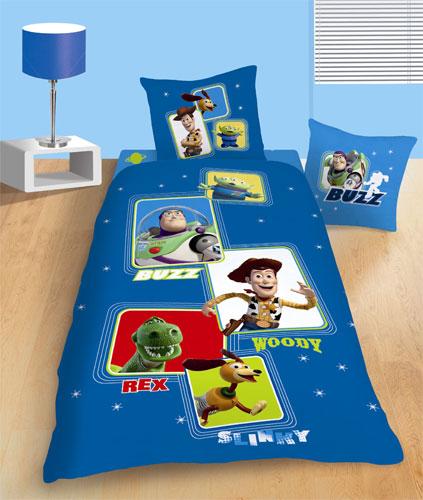 Parure housse de couette disney toy story pictures 140 x 200 cm taie d 39 oreiller 63 x 63 cm - Housse de couette toys story ...