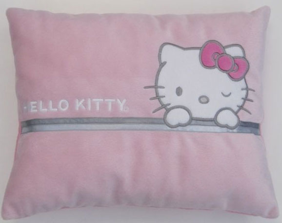 coussin range pyjama hello kitty 32 x 40 cm. Black Bedroom Furniture Sets. Home Design Ideas