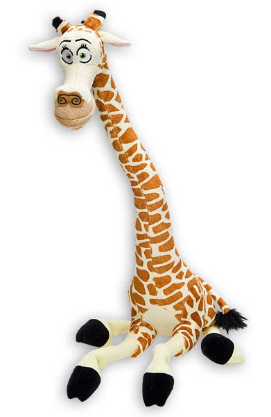 peluche madagascar melman girafe 25 cm. Black Bedroom Furniture Sets. Home Design Ideas