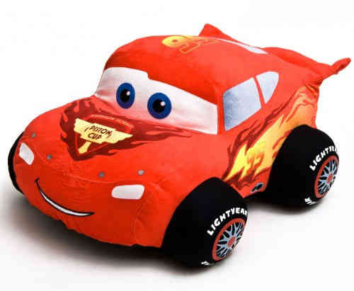 Peluche Disney Cars 2 Flash Mac Queen 63 cm