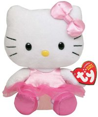 Peluche hello kitty danseuse 15 cm