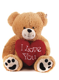 Peluche Ours love 70 cm