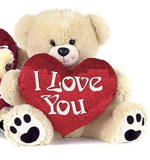 peluche geante i love you