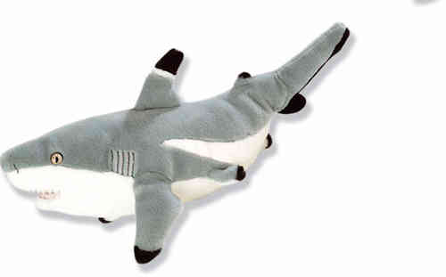 Peluche Wild Republic Requin Grand Blanc 40 cm
