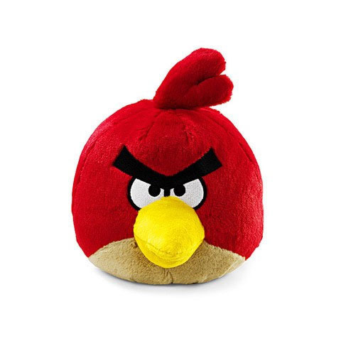 Peluche Angry Birds Rouge 40 cm