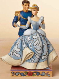 Figurine de Collection Disney Traditions Cendrillon et le Prince Charmant