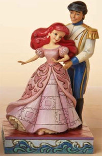 Figurine de Collection Disney Traditions Ariel et Eric