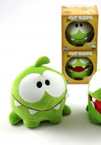 Peluche Cut the Rope 20 cm Modèle F