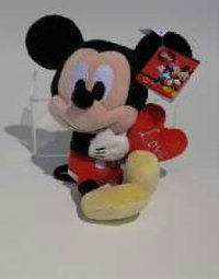 Peluche Mickey Disney love 61 cm