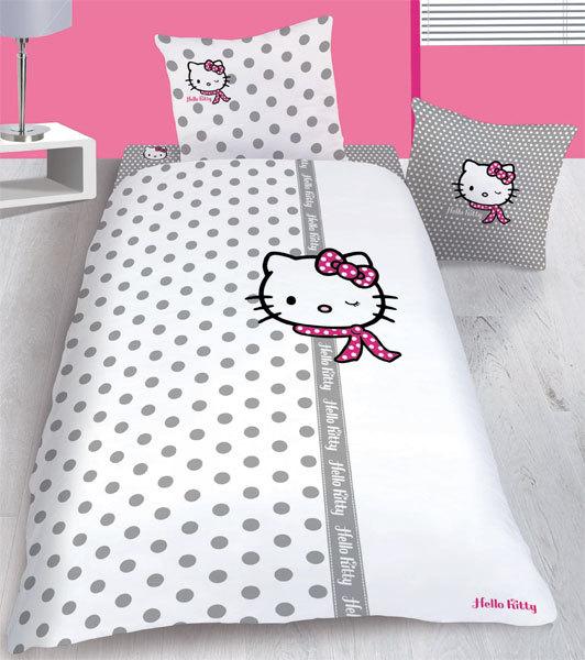 Drap Housse Hello Kitty Couture 90 x 190 cm
