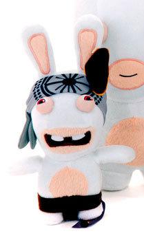 peluche les lapins cr tins 33 cm ninja plushtoy. Black Bedroom Furniture Sets. Home Design Ideas