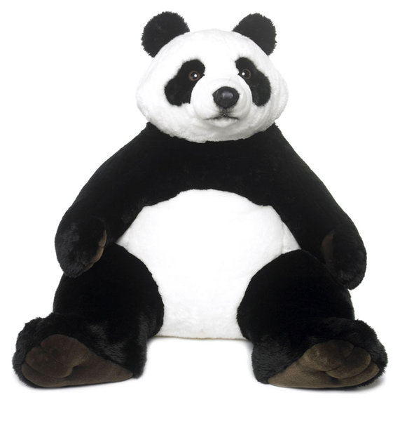 peluche panda wwf 1 metre geante plushtoy. Black Bedroom Furniture Sets. Home Design Ideas
