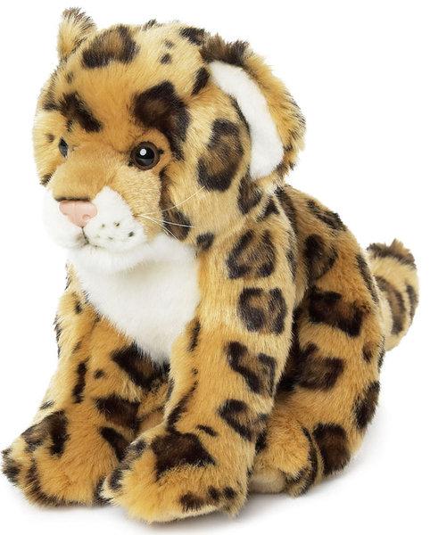 Peluche jaguar wwf assis 23 cm - Bebe du jaguar ...