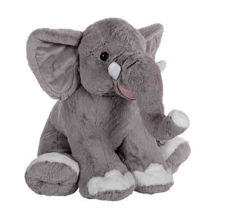 Peluche Elephant Assis 50 cm de long