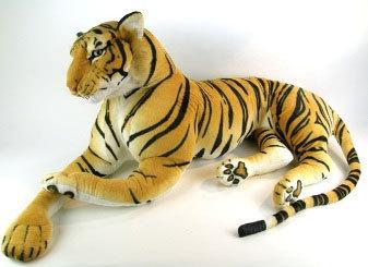 peluche geante tigre