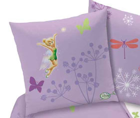 Parure housse de couette disney fairies magic purple - Housse de couette disney princesse ...