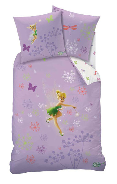 parure housse de couette disney fairies magic purple. Black Bedroom Furniture Sets. Home Design Ideas
