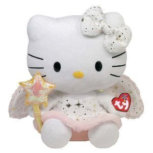 Peluche Hello kitty Ange 30 cm