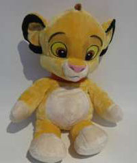 Peluche Disney Dangly Simba 25 cm