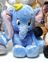 Peluche Disney Dangly Dumbo 25 cm