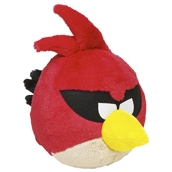 Peluche angry birds space rouge 40 cm - Angry birds rouge ...